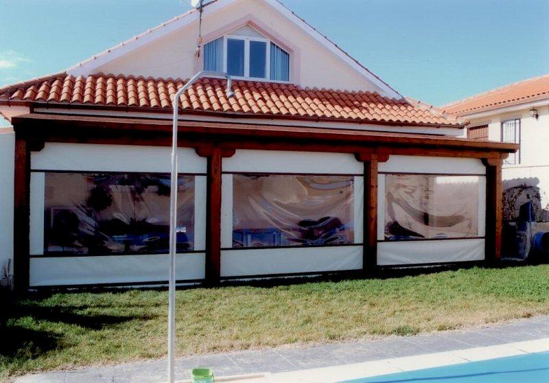 Como cerrar un porche cheap cerrar porche with como - Como cerrar un porche ...